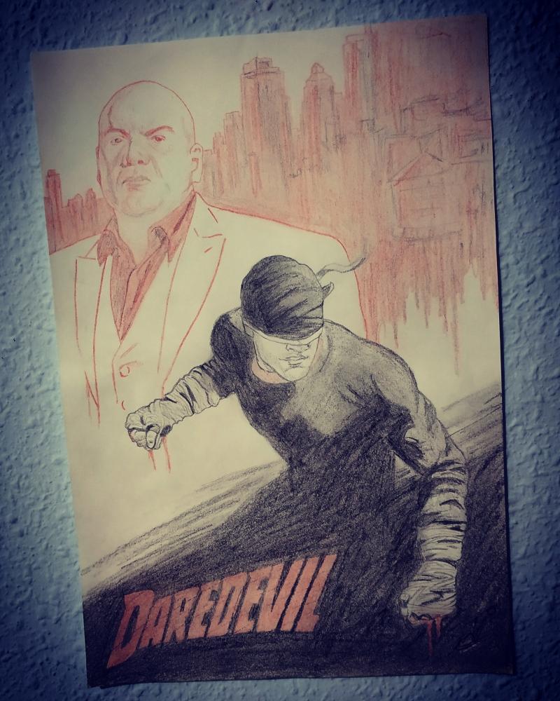 Daredevil, Charlie Cox por Nereaaj